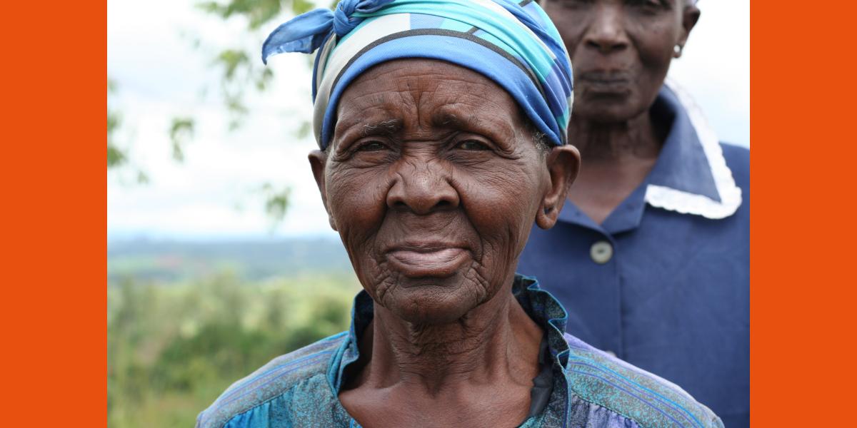 Ouderenprogramma in Malawi