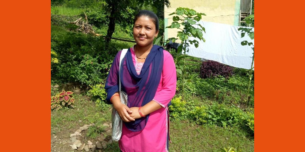 Zelf je toekomst kunnen bepalen: Rachana zet zich in als 'Big Sister'