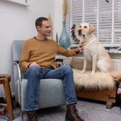 'Ik ben door mijn buddyhond een ander mens geworden'