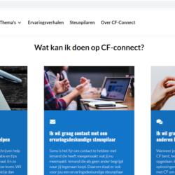 CF-connect.nl dé nieuwe website voor iedereen met CF en hun naasten.